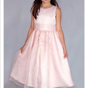 Us Angels Dresses - US Angels size 10 pink Elizabeth dress